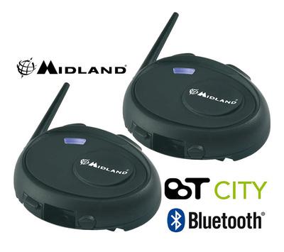 Bluetooth-гарнитура Midland BT CITY (Twin)
