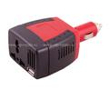 Портативный автомобильный инвертор REXANT 150W 12/220V c USB