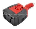 Портативный автомобильный инвертор REXANT 75W 12/220V c USB