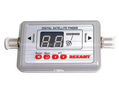 Измеритель уровня сигнала спутникового ТВ REXANT SF-9505